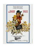 THE BAD NEWS BEARS  US poster  from left: Tatum O'Neal  Walter Matthau  1976