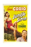 JUNGLE SIREN  from left: Ann Corio  Buster Crabbe  1942