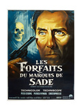 THE SKULL  French poster  Peter Cushing  1965