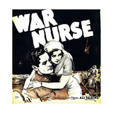 WAR NURSE  from left: Robert Montgomery  Anita Page on window card  1930
