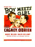 BOY MEETS GIRL  from left: James Cagney  Marie Wilson  Pat O'Brien  1938