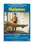 THE GRADUATE  (aka DIPLOMAC)  Yugoslavian poster  Dustin Hoffman  1967
