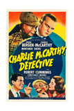 CHARLIE MCCARTHY  DETECTIVE