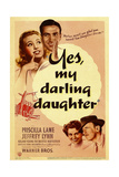 YES  MY DARLING DAUGHTER