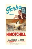NINOTCHKA  top from left: Melvyn Douglas  Greta Garbo  bottom: Greta Garbo  1939