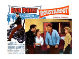 ROUSTABOUT  from left  Elvis Presley  Joan Freeman  Leif Erickson  Barbara Stanwyck  1964