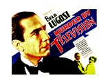 MURDER BY TELEVISION  left: Bela Lugosi  bottom from left: Bela Lugosi  June Collyer  1935