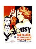JEALOUSY  left from top: George Murphy  Donald Cook  right: Nancy Carroll  1934