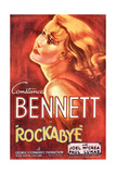 ROCKABYE  Constance Bennett on US poster art  1932