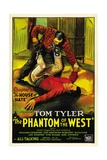 PHANTOM OF THE WEST  bottom: Tom Tyler in 'Chapter 8: The House of Hate'  1931