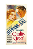 QUALITY STREET  from left: Katharine Hepburn  Franchot Tone  1937