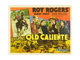 IN OLD CALIENTE  inset: Roy Rogers  far left: Roy Rogers  second from left: Mary Hart  1939