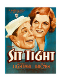 SIT TIGHT  from left on US poster art: Joe E Brown  Winnie Lightner  1931