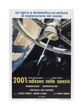 2001: A Space Odyssey  (aka 2001: Odissea Nello Spazio)  Italian poster   1968