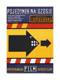 DUEL  (aka POJEDYNEK NA SZOSIE)  Polish poster  1971