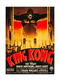 King Kong  (French poster art)  1933