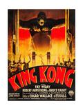KING KONG  (French poster art)  1933