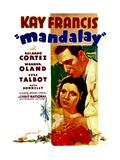 MANDALAY  Kay Francis  Ricardo Cortez  1934
