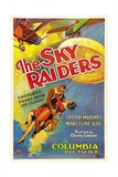 THE SKY RAIDERS  from left: Lloyd Hughes  Marceline Day  1931