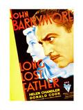 LONG LOST FATHER  from left: Helen Chandler  John Barrymore  1934