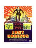 LOST HORIZON  top center: Ronald Colman  bottom left: Ronald Colman on window card  1937