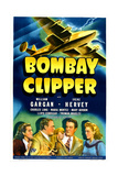 BOMBAY CLIPPER  from left: Irene Hervey  William Gargan  Truman Bradley  Maria Montez  1942