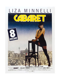 CABARET  French poster  Liza Minnelli  1972