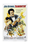 SLAUGHTER  US poster  Jim Brown  1972