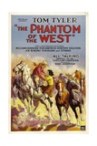 PHANTOM OF THE WEST  Tom Tyler  1931  'Chapter 1: The Ghost Riders""
