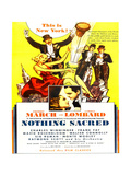 Nothing Sacred  Carole Lombard  Fredric March  1937