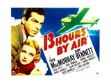 THIRTEEN HOURS BY AIR  from left: Fred MacMurray  Joan Bennett  1936