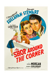 THE SHOP AROUND THE CORNER  from left: Margaret Sullavan  James Stewart  1940