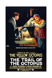 THE TRAIL OF THE OCTOPUS  left: Ben Wilson in 'Episode No 15: The Yellow Octopus'  1919