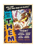THEM!  US poster art  1954