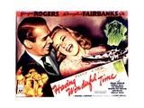 HAVING WONDERFUL TIME  from left: Douglas Fairbanks Jr  Ginger Rogers  1938