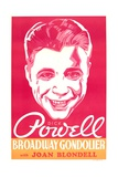 BROADWAY GONDOLIER  US poster art  Dick Powell  1935