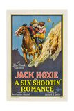 A SIX SHOOTIN' ROMANCE  from left: Jack Hoxie  Olive Hasbrouck  1926