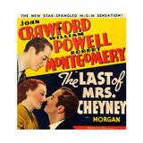 THE LAST OF MRS CHEYNEY