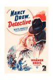 NANCY DREW: DETECTIVE  Bonita Granville on poster art  1938