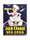 SEA LEGS  Jack Oakie on window card  1930