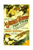 JUNGLE MYSTERY  top center: Tom Tyler in 'Chapter 9: The Jungle Terror'  1932