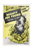 MIGHTY JOE YOUNG  US poster  Terry Moore  Mighty Joe Young  1949