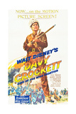 DAVY CROCKETT  KING OF THE WILD FRONTIER  Fess Parker  1955
