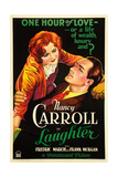 LAUGHTER  US poster art  from left: Nancy Carroll  Fredric March  1930