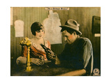 WATER  WATER  EVERYWHERE  l-r: Irene Rich  Will Rogers on lobbycard  1920