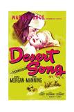 DESERT SONG  (aka THE DESERT SONG)  US poster  Dennis Morgan  Irene Manning  1943