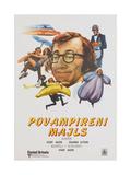 SLEEPER  (aka POVAMPIRENI MAJLS)  Yugoslavian poster  Woody Allen  1973