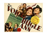 THE VOICE OF BUGLE ANN  top from left: Lionel Barrymore  Maureen O'Sullivan  Eric Linden  1936