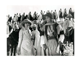 THE SHEIK  from left  Agnes Ayres  Rudolph Valentino  (background  right  Adolphe Menjou)  1921