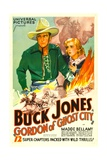 GORDON OF GHOST CITY  Buck Jones  Madge Bellamy  1933